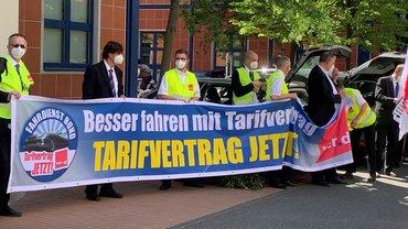 Bundestags-Fahrdienst: Warnstreik für Tarifvertrag am 09.06.2021